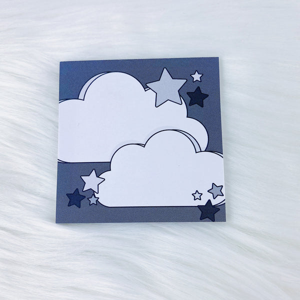 Neutral Clouds Sticky Note | 3x3 + 25 Sheets
