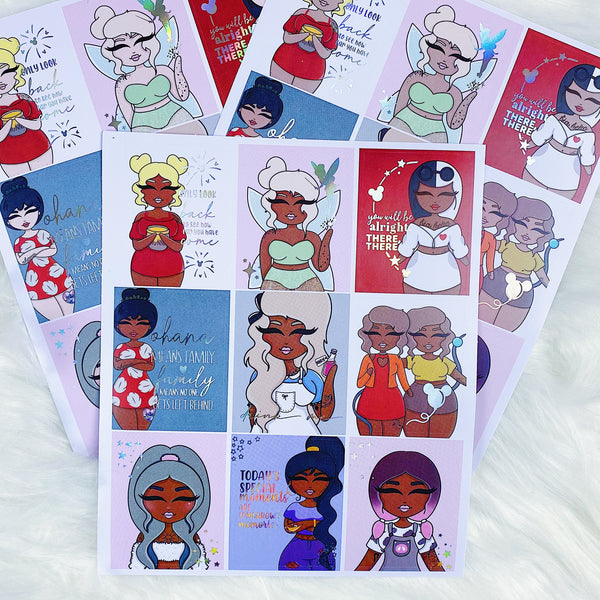 Tattoo Sidekicks Full Boxes | Holographic Foil | Choose your Skin Tone!