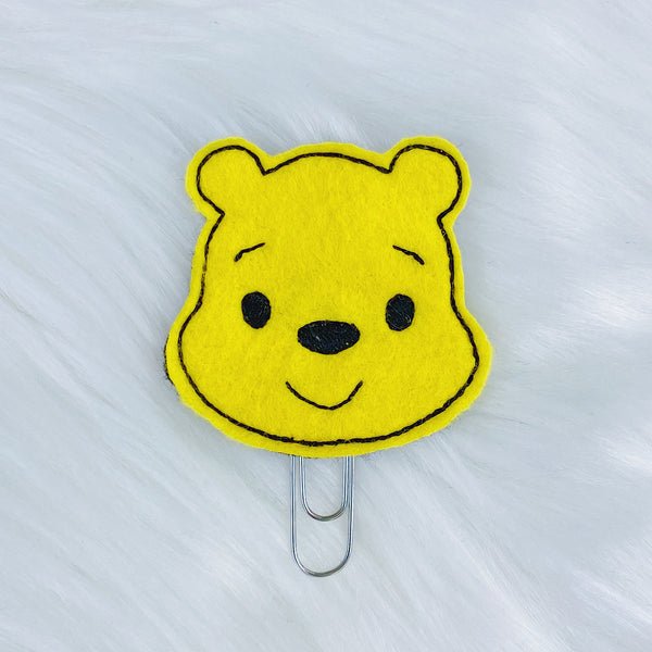 Winnie the Pooh Feltie | CHOOSE YOUR HARDWARE