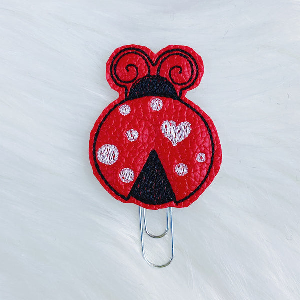 Lady Bug Feltie | CHOOSE YOUR HARDWARE