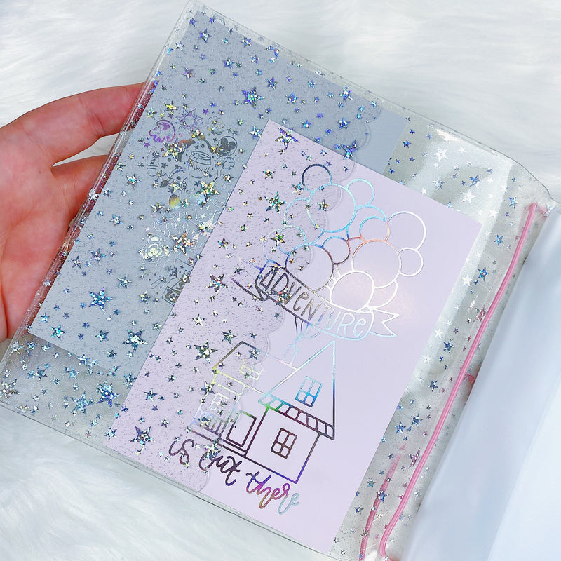 "Large Jelly Sticker Keeper | PERFECT for our Sticker Books! |  Fits 5.75"" x 6.3"" Stickers + Items"