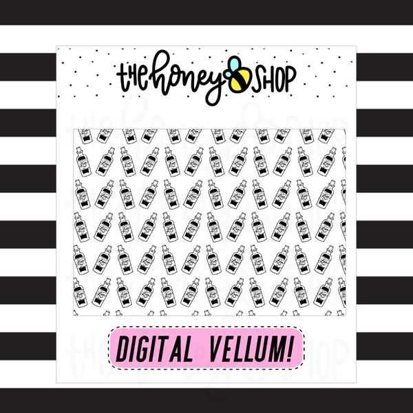 Love Potion Digital Vellum | DIGITAL DOWNLOAD