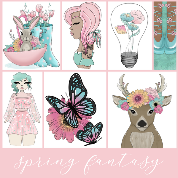 Spring Fantasy | April Digital Babe Box | NO COUPONS