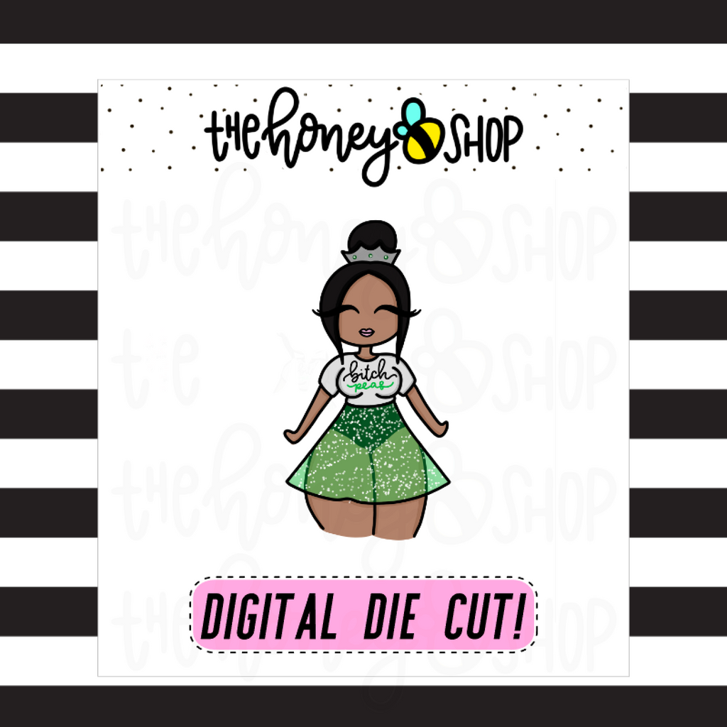 Bitch Peas Babe | DIGITAL DOWNLOAD | PICK YOUR SKIN COLOR