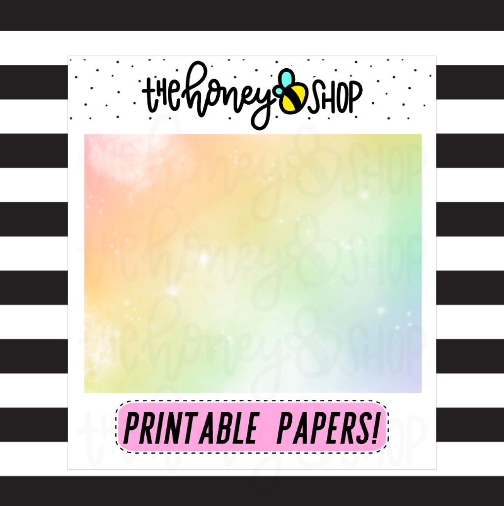 Galaxy Paper Pack |  DIGITAL DOWNLOAD