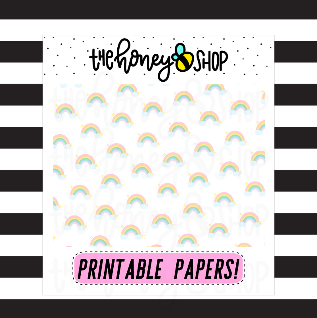 Rainbow Paper |  DIGITAL DOWNLOAD