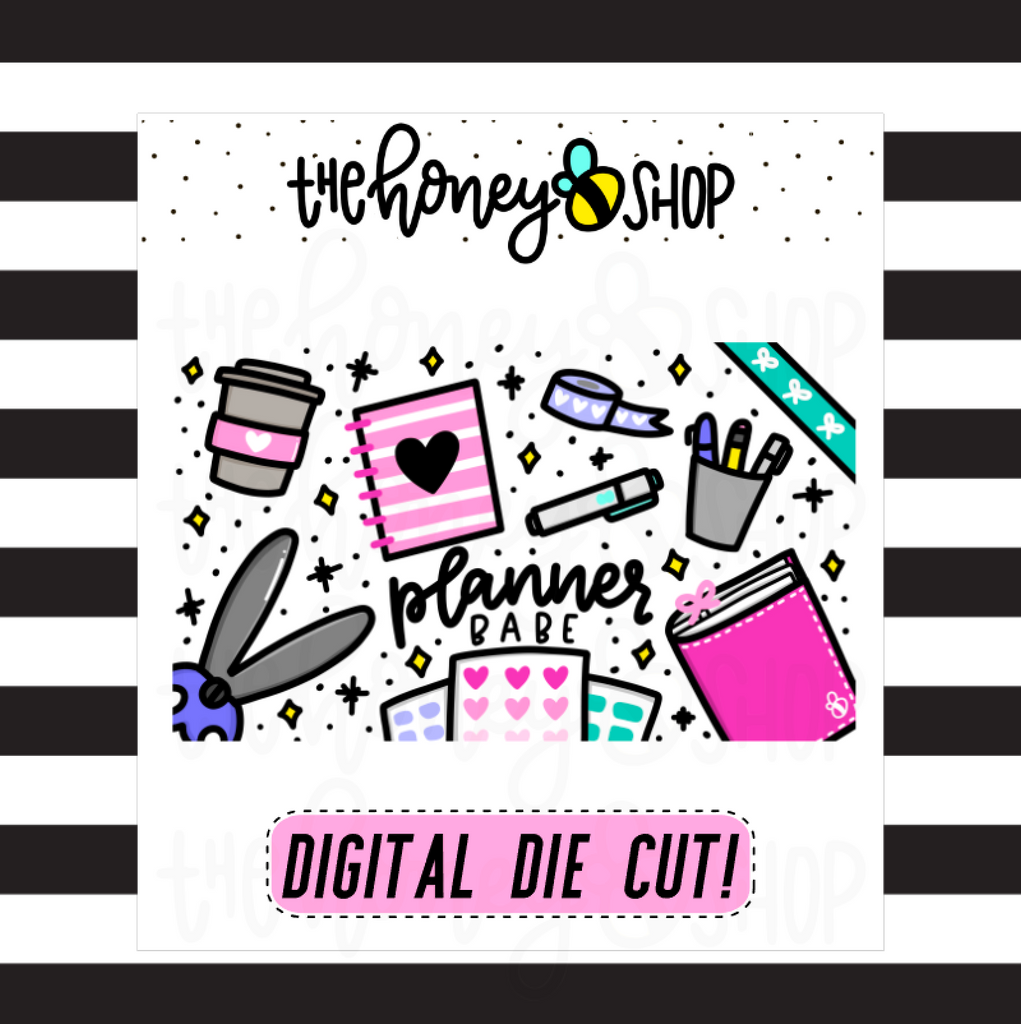 Planner Babe |  DIGITAL DOWNLOAD