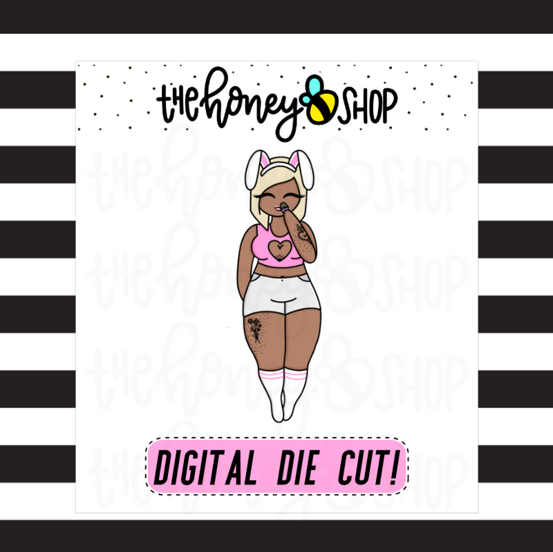 April Easter Babe | DIGITAL DOWNLOAD | PICK YOUR SKIN TONE