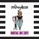 Planner Pens Babe | DIGITAL DOWNLOAD | PICK YOUR HAIR + SKIN TONE