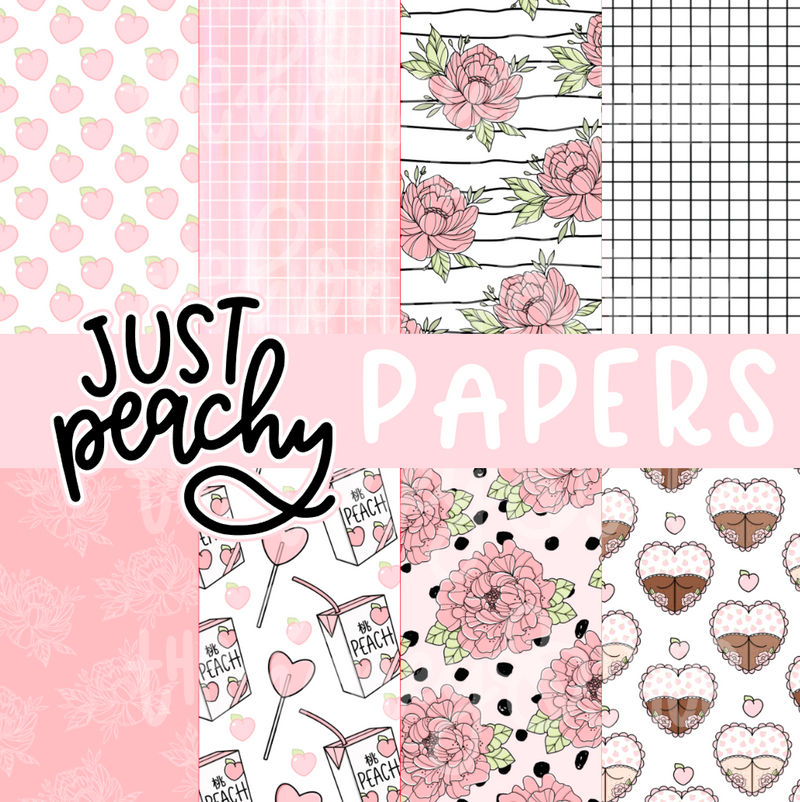 Just Peachy | April Digital Babe Box | NO COUPONS