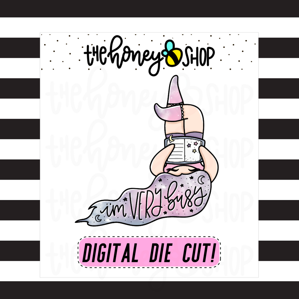 I'm Very Busy Babe | DIGITAL DOWNLOAD | PICK YOUR SKIN COLOR