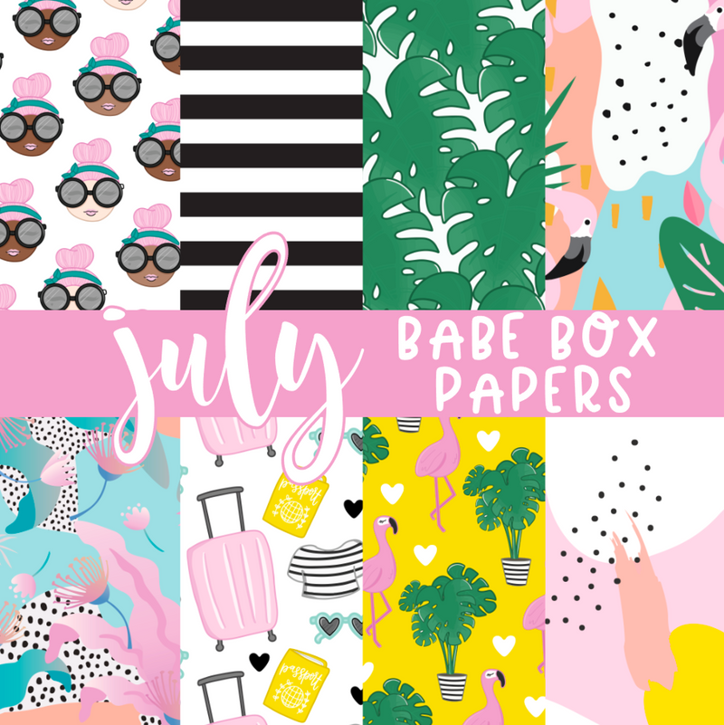 Tropical Bliss | June Digital Babe Box | NO COUPONS