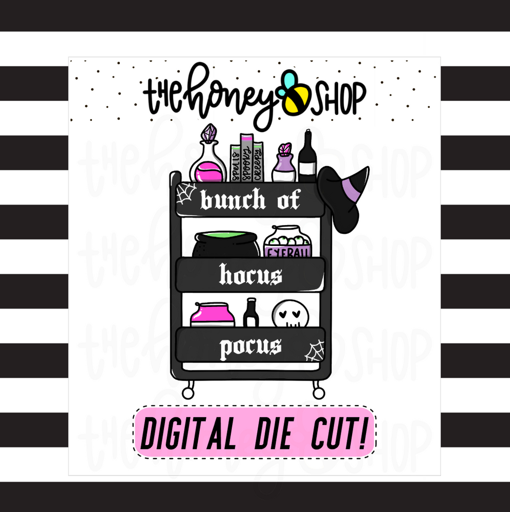 Traditional Bunch of Hocus Pocus Cart | DIGITAL DOWNLOAD
