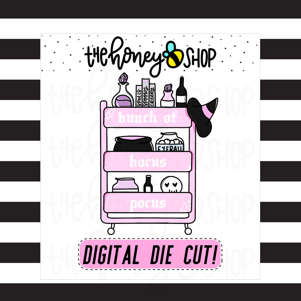 Pastel Bunch of Hocus Pocus Cart | DIGITAL DOWNLOAD