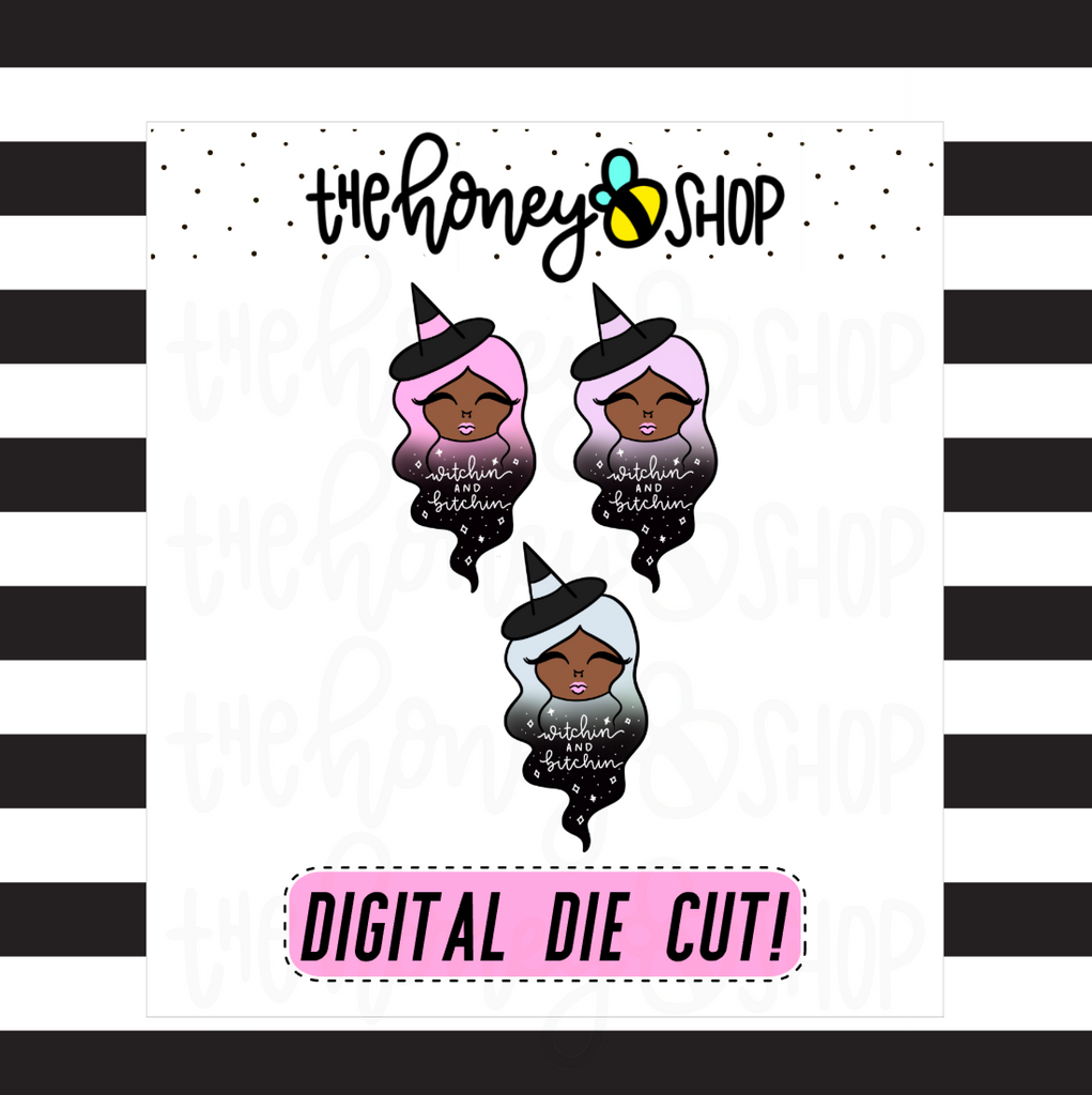 Pastel Withcin' + Bitchin' Babe | DIGITAL DOWNLOAD | PICK YOUR SKIN COLOR