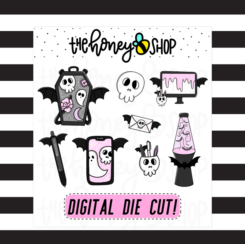 Spooky Clipart | DIGITAL DOWNLOAD