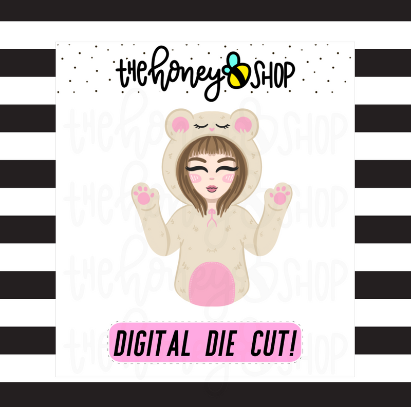 Cozy Babe | DIGITAL DOWNLOAD | PICK YOUR SKIN TONE