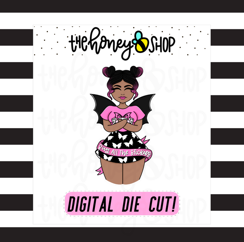 B.A.T.S / Buy ALL THE Stickers Babe | DIGITAL DOWNLOAD | PICK YOUR SKIN TONE