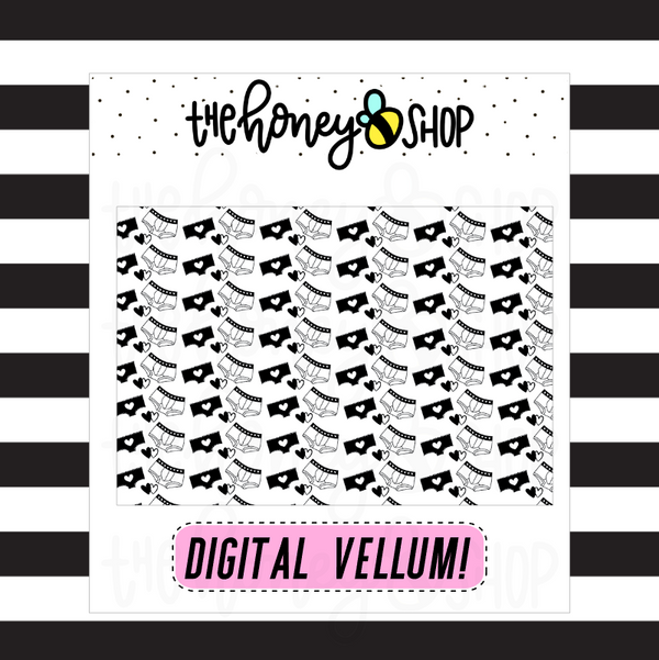 Undies Digital Vellum | DIGITAL DOWNLOAD