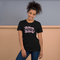 Babes Support Babes | Black Unisex T-Shirt | Pink Print | Bella + Canvas 3001