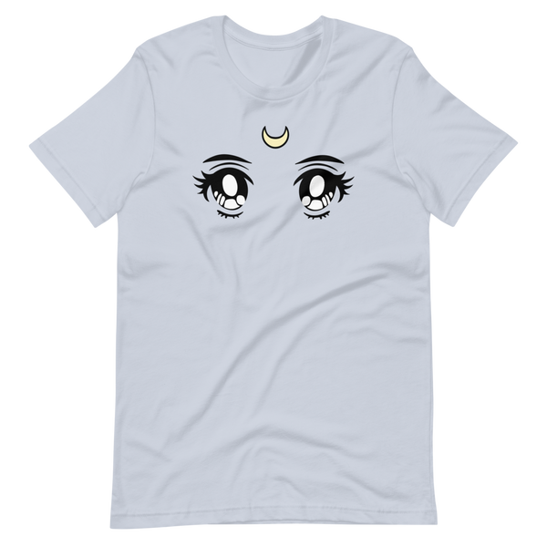 Moon Eyes | Light Blue Unisex T-Shirt | Bella + Canvas 3001