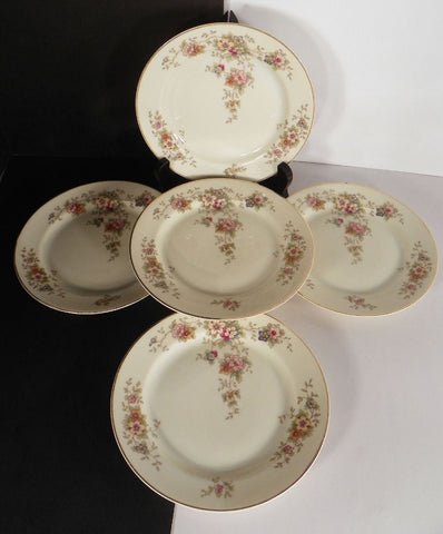 Heinrich Bavaria Selb Senta Bread and Butter Plate (s) LOT OF 5 Pattern 10816
