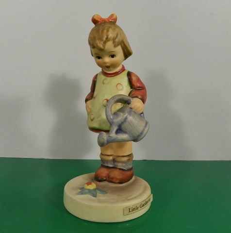 Hummel Figurine LITTLE Gardener Germany HUM 74 TMK 3 Girl with Watering Can