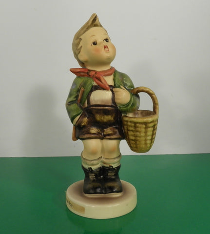 Hummel Figurine VILLAGE BOY Germany HUM 51 2/0 Goebel TMK 5