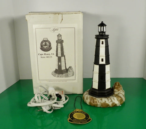 Lefton Historic American Lighthouse CAPE HENRY 00135 Virginia
