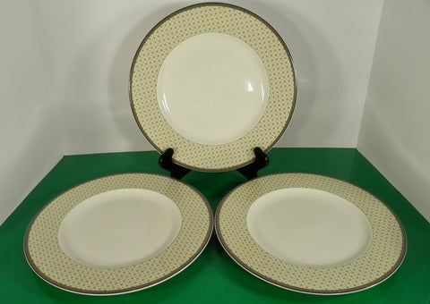 Mikasa POPPY MEMORY Large Dinner Plate (s) LOT OF 3 Optima Y4002