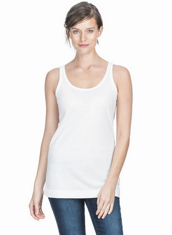 Long Scoop Tank by Lilla P