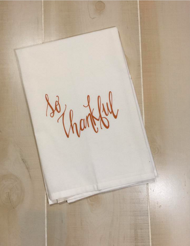 So Thankful Kitchen Towel