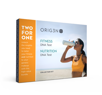 Fitness and Nutrition DNA Test Bundle