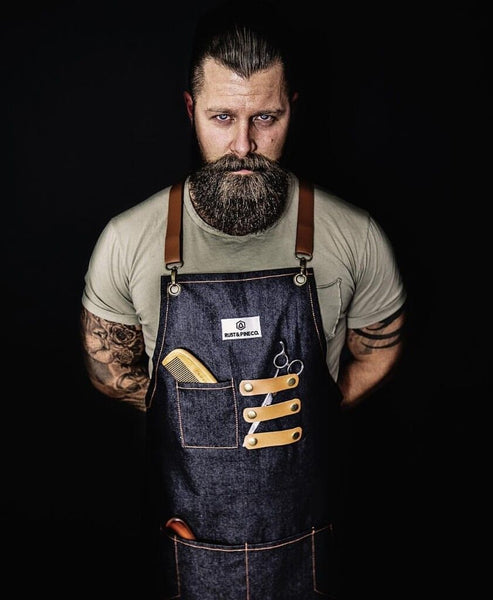 Denim Utility Apron