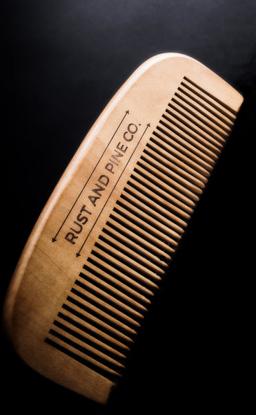 Natural Wood Beard Combs