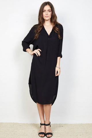 Brighton Beach Dress Black