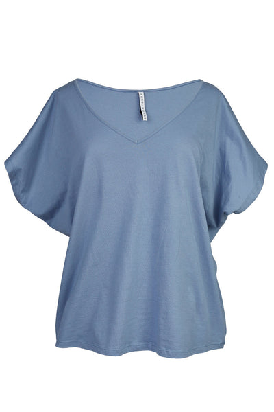 Sintiya T-shirt Faded Denim was $45 now $25