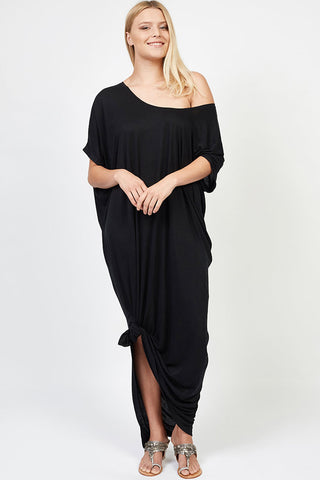 Fallon Maxi Dress Black