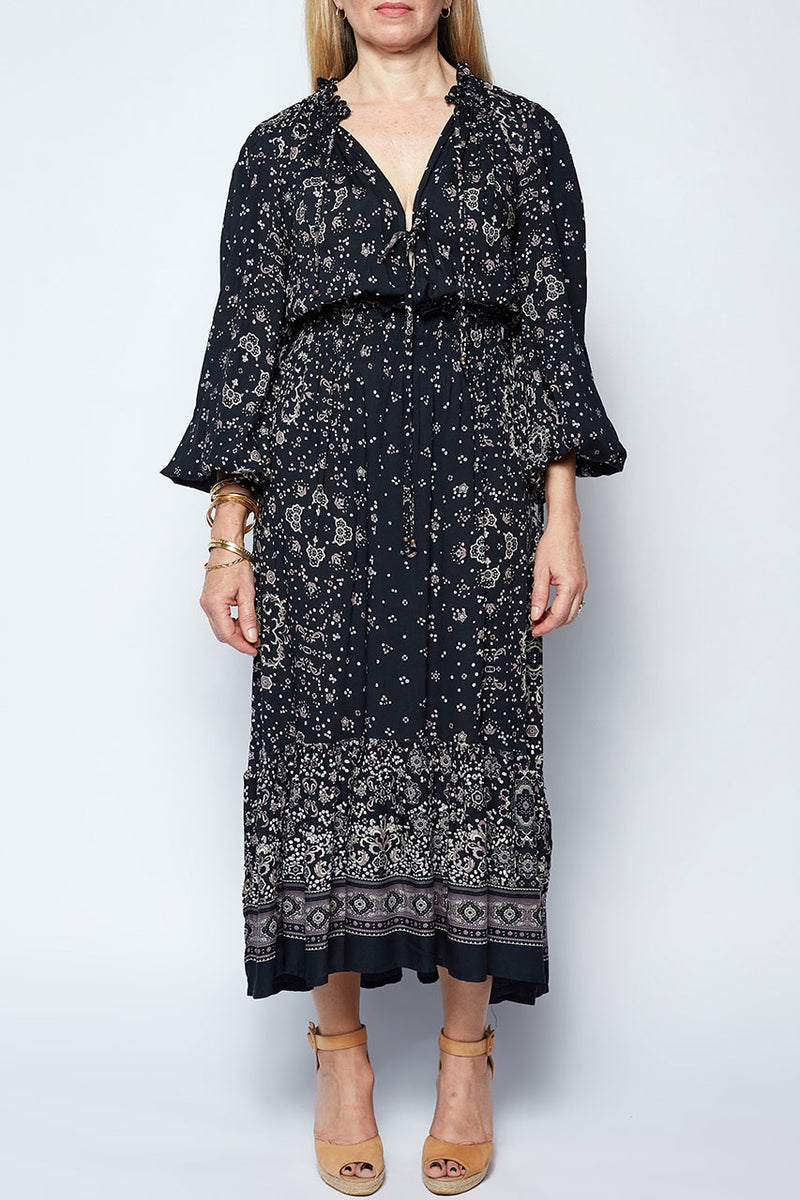 Jessica Dress in Passion Print