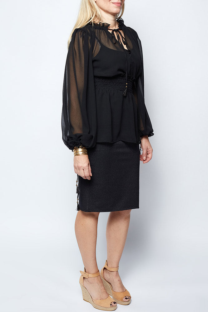 Tate Top Black