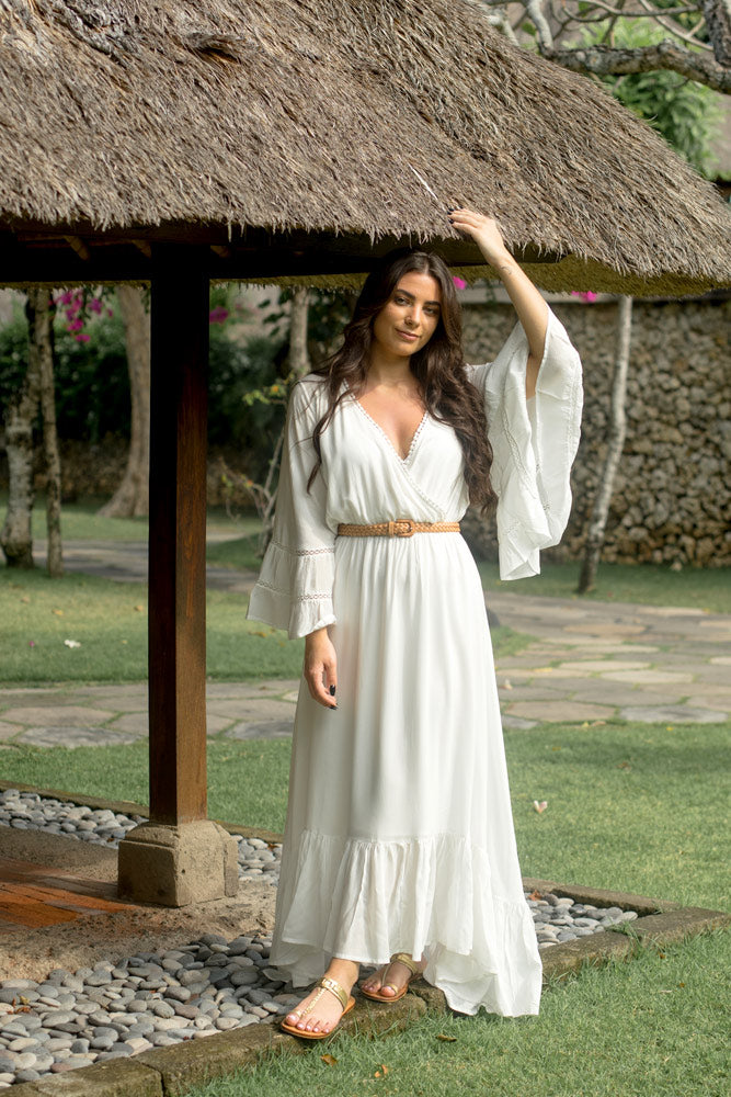 Marbella Dress Limited Edition White