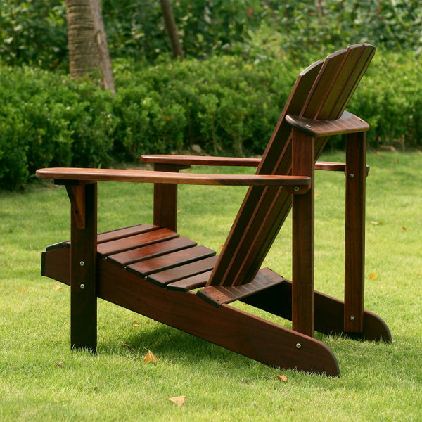 Curveback Shorea Wood Deluxe Adirondack Chair
