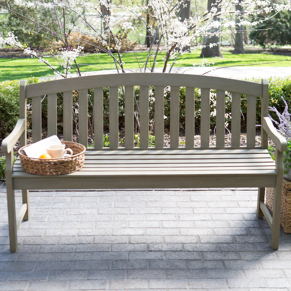 art products outdoor international garden campania bench by classic stone pros