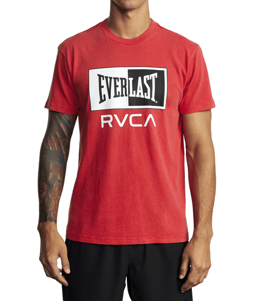 RVCA X Everlast Box Short Sleeve Tee