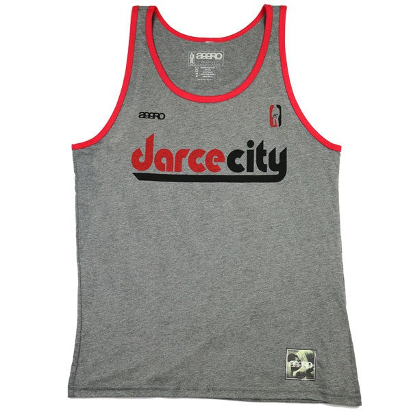 "AGGRO Brand ""DarceCity"" Contrast Tank Top - Bridge City Fight Shop"