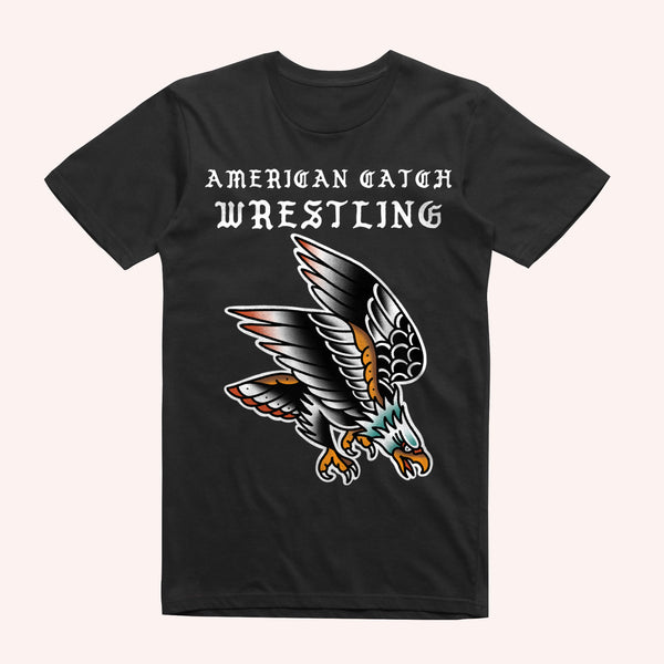 Bridge City Fight Shop American Catch Wrestling Eagle Rashguard
