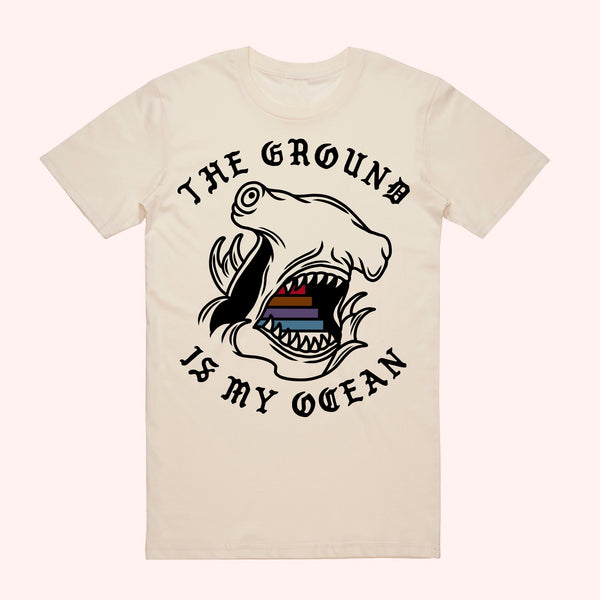 Bridge City Fight Shop The Ground Is My Ocean Hammerhead Tee