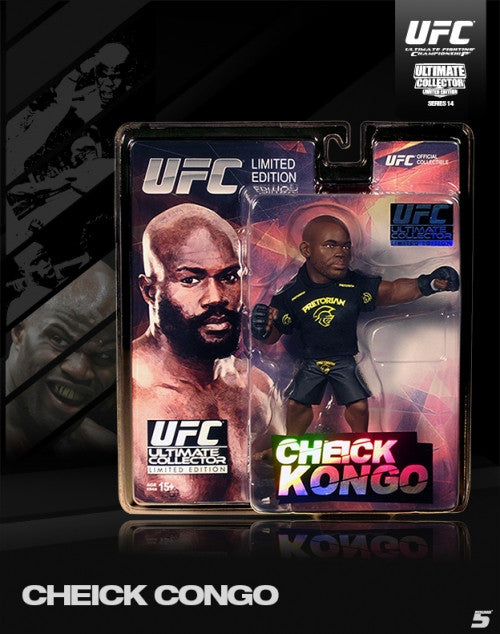 Round 5 Ultimate Collector Series 14 Limited Edition Cheick Kongo - Bridge City Fight Shop
