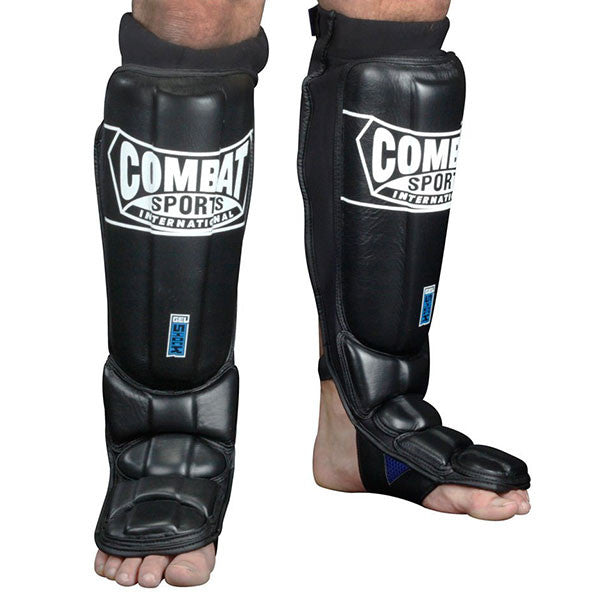 Combat Sports Gel Shock Pro Style Grappling Shinguards - Bridge City Fight Shop