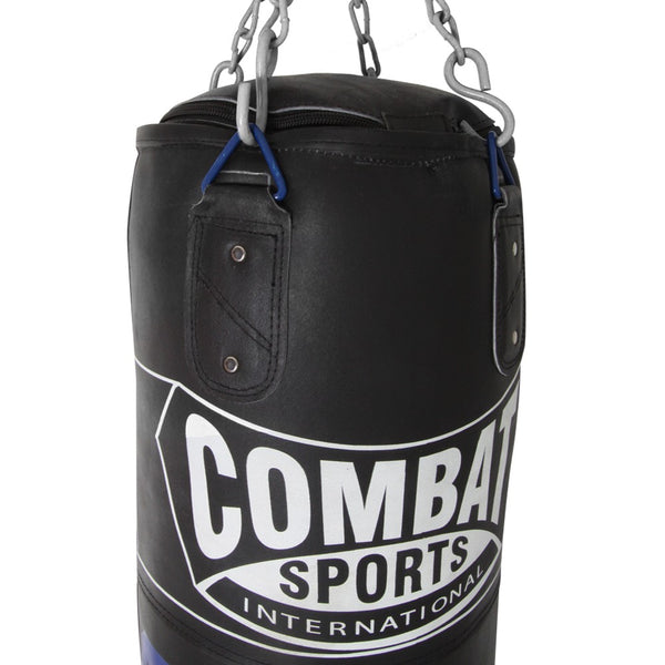 Combat Sports 100lb. Leather Muay Thai Heavy Bag